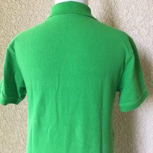Izod Shirts & Tops - Izod Polo T-Shirt Short Sleeve Green/White/Black L